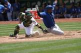 Oakland A's vs KC Royals #19 C Josh Phegley Photos by Tod Fierner (Martinez News-Gazette)