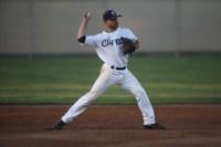 Martinez Clippers Opening Night vs Sonoma Stompers Baseball. #9 SS Alan Mochabee Photos by Tod Fierner Martinez News-Gazette