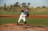Martinez Clippers Opening Night vs Sonoma Stompers Baseball. #22 Starting Pitcher Matti Doxter Photos by Tod Fierner Martinez News-Gazette