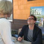 Nathan Turner comes home for book signing