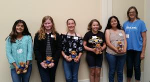 Pleasant Hill-Martinez AAUW Tech Trek girls