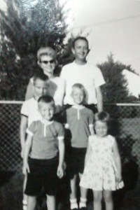 Jeff's family before they left Florida