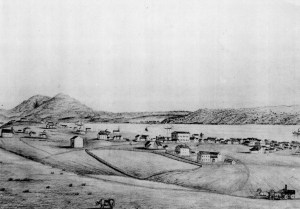 Benicia looked like this in 1855
