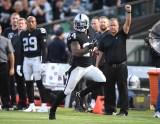 Oakland Raiders vs Detroit Lions #24 RB Marshawn Lynch ( Beast Mode ) Photos by Gerome Wright ( Martinez News-Gazette )