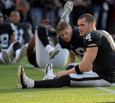 Oakland Raiders vs Detroit Lions #4 QB Derek Carr Photos by Gerome Wright ( Martinez News-Gazette )
