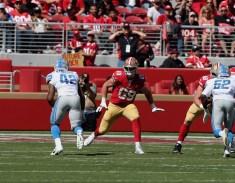 San Francisco 49ers vs Detroit Lions #69 RT Mike McGlinchey Photos by Tod Fierner (Martinez News-Gazette)