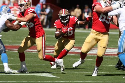 San Francisco 49ers vs Detroit Lions #46 RB Alfred Morris Photos by Tod Fierner (Martinez News-Gazette)