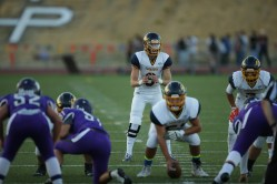 Alhambra Bulldogs vs College Park Falcons #9 QB Aaron Hern Photos by Tod Fierner ( Martinez News-Gazette )