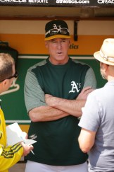 Oakland A's vs New York Yankees A's Skipper Bob Melvin Photos by Tod Fierner ( Martinez News-Gazette )