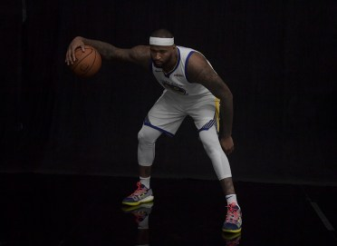 Golden State Warriors Media Day #0 DeMarcus Cousins Photos by Gerome Wright ( Martinez News-Gazette )