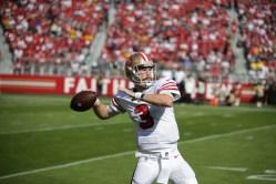 San Francisco 49ers vs Los Angeles Rams #3 QB C.J. Beathard Photos by Tod Fierner (Martinez News-Gazette)