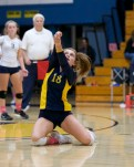 Alhambra Girls Volleyball vs Terra Linda Playoffs Photos by Mark Fierner (Martinez News-Gazette)