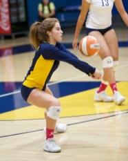 Alhambra Girls Volleyball vs Miramonte