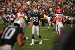 Oakland Raiders vs Cleveland Browns Photos by Tod Fierner (Martinez News-Gazette)