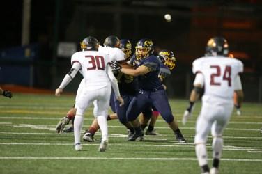 Alhambra Bulldogs vs Northgate Broncos #74 G, John Kelly Photos by Tod Fierner (Martinez News-Gazette)