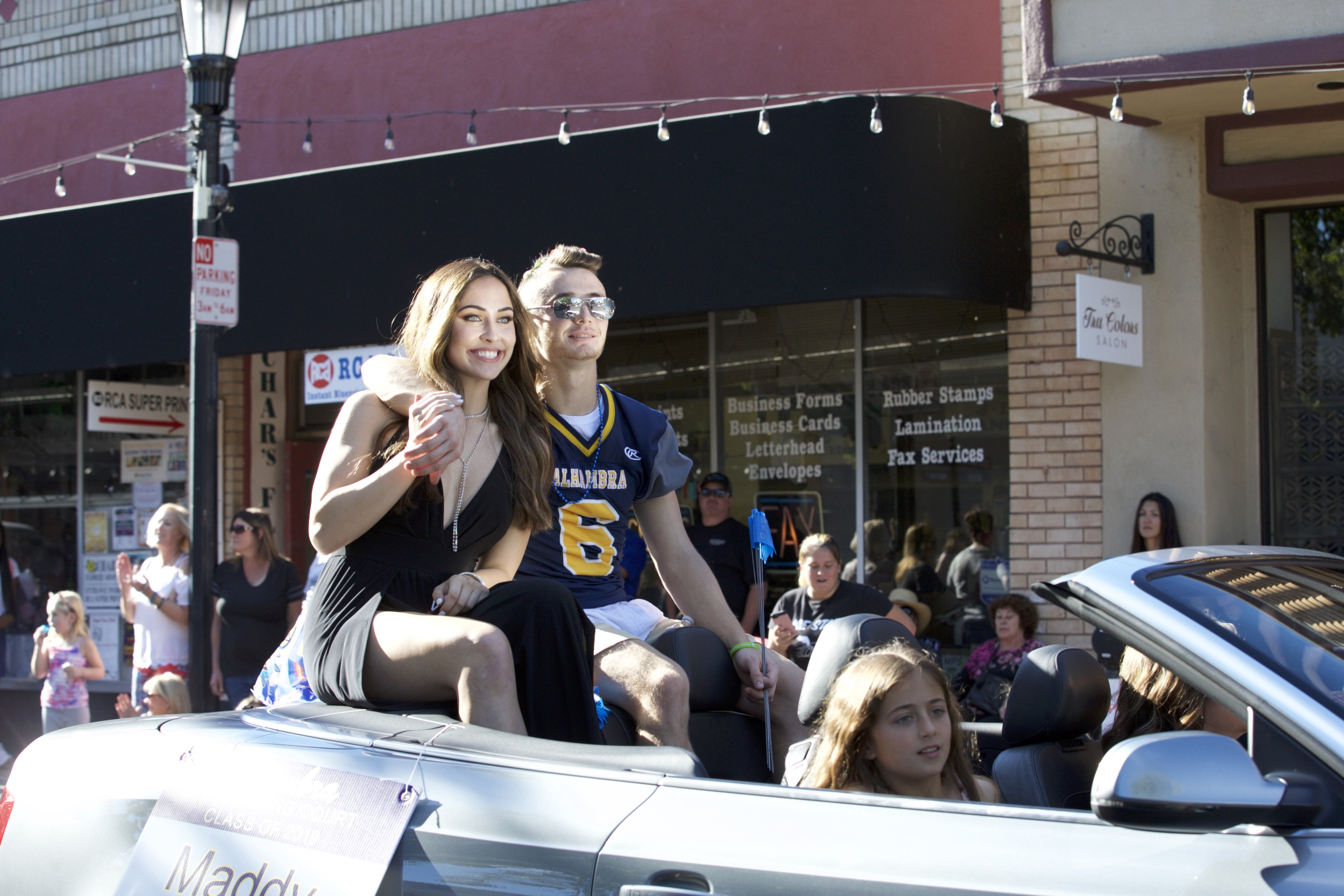 Alhambra High School Homecoming Parade
