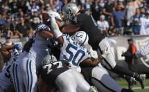 Oakland Raiders vs Indianapolis Colts Photos by Gerome Wright (Martinez News-Gazette)