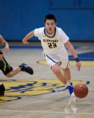 Alhambra Boy's basketball vs Pinole Valley Photos by Mark Fierner (Martinez News-Gazette)