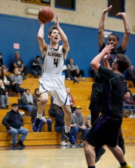 Alhambra Boys Basketball vs Kennedy Titans Photos by Mark Fierner (Martinez News-Gazette)