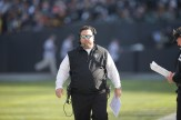 Oakland Raiders vs Pittsburgh Steelers D- coordinator Paul Guenther Photos by Tod Fierner ( Martinez News-Gazette )