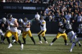 Oakland Raiders vs Pittsburgh Steelers QB #7 Ben Roethlisberger Photos by Tod Fierner ( Martinez News-Gazette )