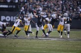 Oakland Raiders vs Pittsburgh Steelers QB #4 Derek Carr Photos by Tod Fierner