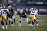 Oakland Raiders vs Pittsburgh Steelers LT #77 Kolton Miller Photos by Tod Fierner