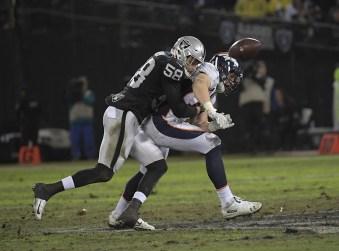 Oakland Raiders vs Denver Broncos Photos by Gerome Wright (Martinez News-Gazette)