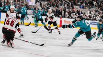 San Jose Sharks vs Arizona Coyotes Photos by Guri Dhaliwal (Martinez News-Gazette)