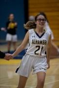 Alhambra Girls Basketball vs Clayton Valley