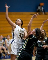 Alhambra Girls Basketball vs Concord Minutemen.