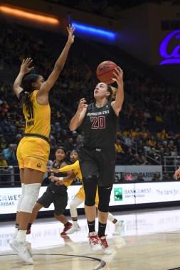 Cal Women's Basketball vs Washington St Photos by Gerome Wright (Martinez News-Gazette)