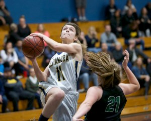 Alhambra Girls Basketball vs Sonoma Valley Dragons Photos by Mark Fierner (Martinez News-Gazette)