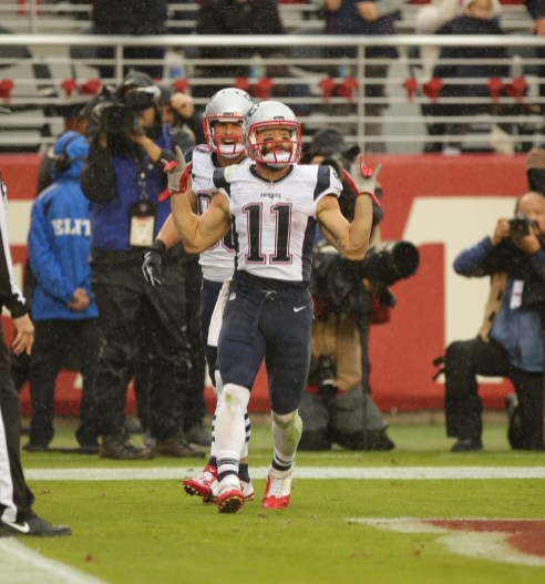 Los Angeles Rams vs New England Patriots #11 WR Julian Edelman Photos by Tod Fierner (MTZ Gazette)