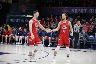 Saint Mary's Gaels vs San Diego Toreros #12 Kuhse #3 Ford Photos by Tod Fierner (MTZ Gazette)