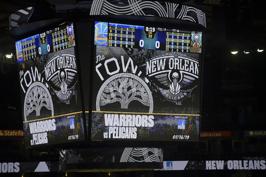 Warriors vs Pelicans