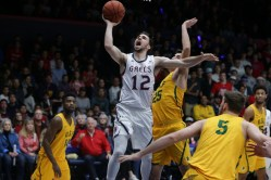 Saint Mary's Gaels vs USF Dons #12 Tommy Kuhse Photos by Tod Fierner Saint Mary's Photographer (Martinez News-Gazette)
