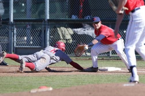 Saint Mary's Baseball vs Washington State #25 1B Austin Chauvin Photos by Tod Fierner Martinez News-Gazette