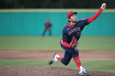 Saint Mary's Baseball vs Washington State #35 LHP Ken Waldichuk Photos by Tod Fierner Martinez News-Gazette