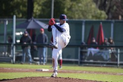 Saint Mary's Baseball vs Washington State #9 RHP/INF Kevin Milam Photos by Tod Fierner Martinez News-Gazette