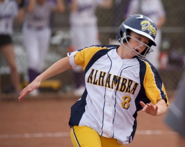 Alhambra Softball vs College Park Photos by Mark Fierner Martinez News-Gazette