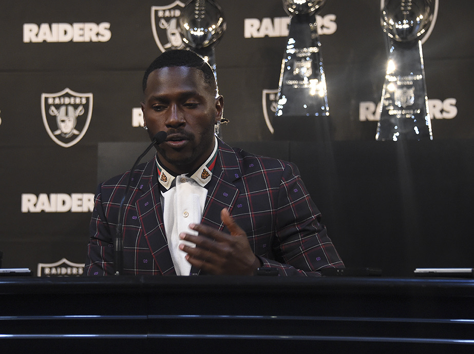 Antonio Brown Press Conference