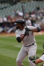 Oakland A's vs Boston Red Sox #19 CF Jackie Bradley Jr.