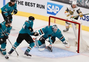 San Jose Sharks vs Las Vegas Golden Knights NHL Playoffs Game 5 Photos by Guri Dhaliwal (Martinez News-Gazette)