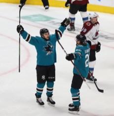 San Jose Sharks vs Colorado Avalanche Game 1 Western Conference Semifinals Photos by Guri Dhaliwal (Martinez News-Gazette)