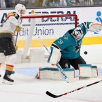 Sharks Take One From Golden Knights