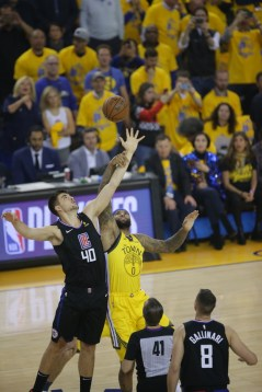 Golden State Warriors vs LA Clippers Game two NBA Playoffs Photos by Tod Fierner