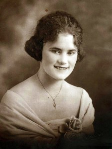 Velda Dunn, aged 16, 1930