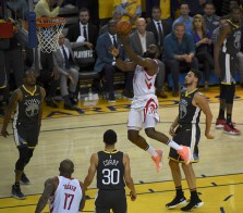 Golden State Warriors vs Houston Rockets Game Two Western Conference Semifinals Photos by Gerome Wright (Martinez News-Gazette)