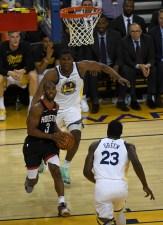 Golden State Warrios vs Houston Rockets Game five NBA Playoffs. Photos by Gerome Wright (Martinez News-Gazette)